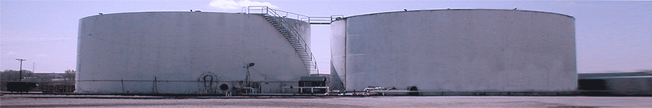 2 million gallon storage tanks